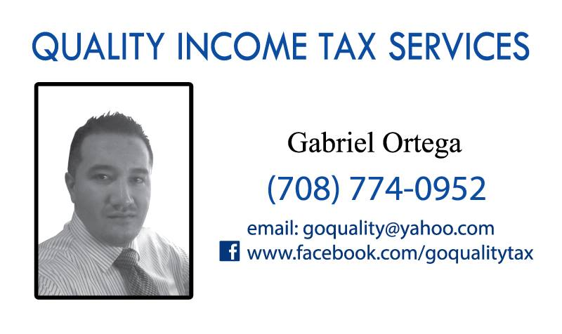 Quality Income Tax Services - accounting  | Photo 1 of 1 | Address: 1523 S 49th Ave, Cicero, IL 60804, USA | Phone: (708) 774-0952