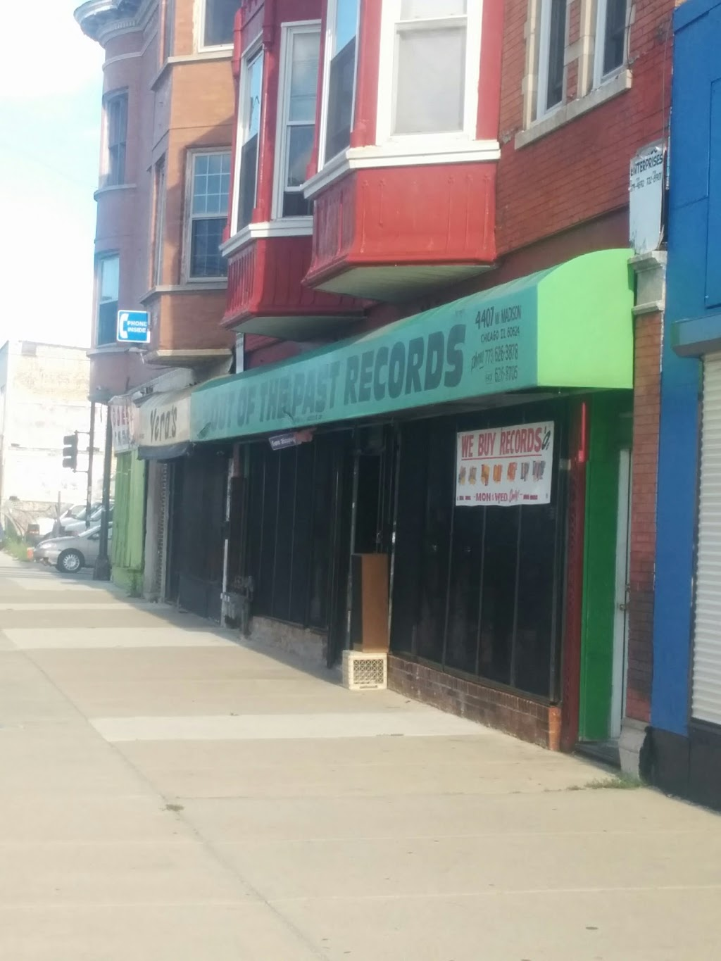 Out of the Past Records - electronics store  | Photo 1 of 10 | Address: 4407 W Madison St, Chicago, IL 60624, USA | Phone: (773) 626-3878