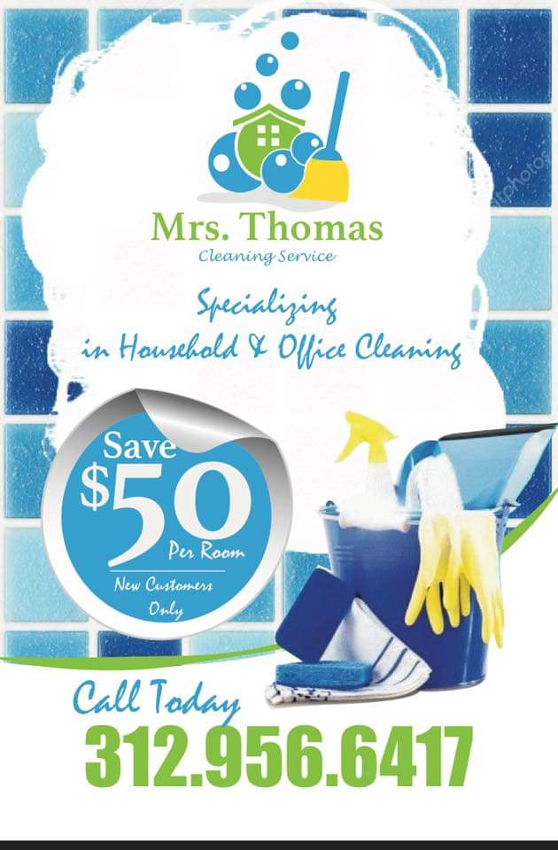 Mrs. Thomas cleaning service LLC - point of interest  | Photo 7 of 10 | Address: 1350 S Kildare Ave, Chicago, IL 60623, USA | Phone: (312) 956-6417