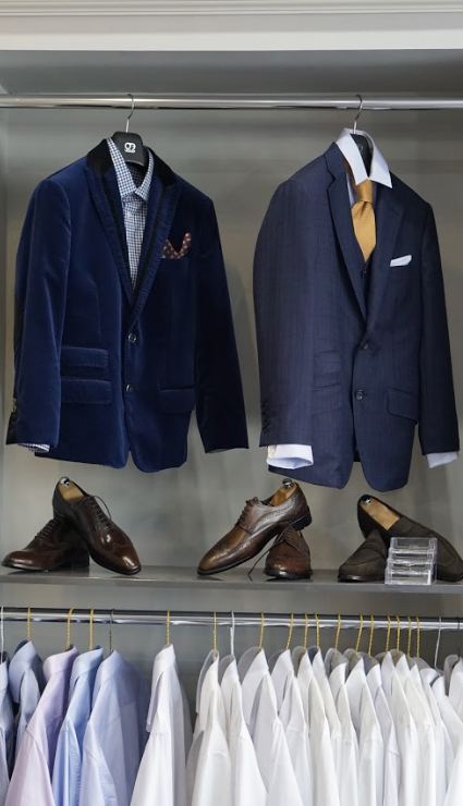 Adrian Park Custom Suits -Delouice Chicago - point of interest  | Photo 10 of 10 | Address: 1755 W North Ave #102, Chicago, IL 60622, USA | Phone: (773) 384-8500