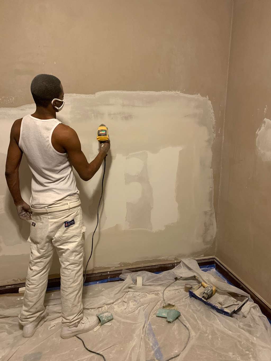 HK Drywall Services Inc. - painter  | Photo 5 of 10 | Address: 4517 W Adams St, Chicago, IL 60624, USA | Phone: (773) 526-3274