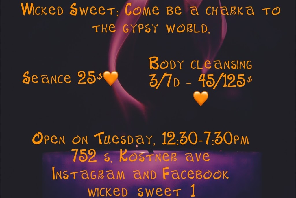 Wicked sweet: Come Be A Charka To The Gypsy World LLC - place of worship  | Photo 4 of 4 | Address: 752 S Kostner Ave, Chicago, IL 60624, USA | Phone: (773) 554-2158