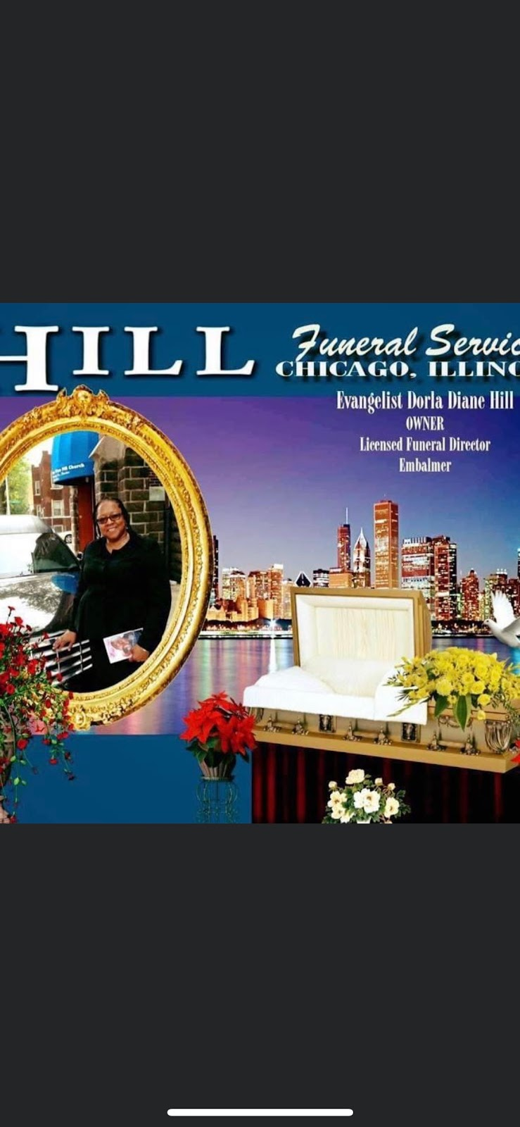 HILL FUNERAL SERVICES - funeral home  | Photo 1 of 10 | Address: HILL FUNERAL SERVICES c/o > 418, S Cicero Ave, Chicago, IL 60644, USA | Phone: (773) 626-7400