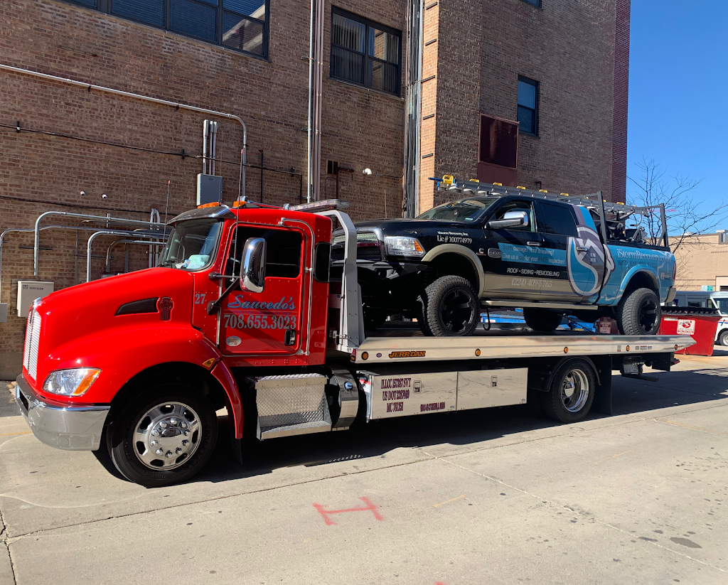 Saucedos Towing Service Inc. - point of interest    Photo 6 of 10   Address: 1246 S Cicero Ave, Cicero, IL 60804, USA   Phone: (708) 655-3023