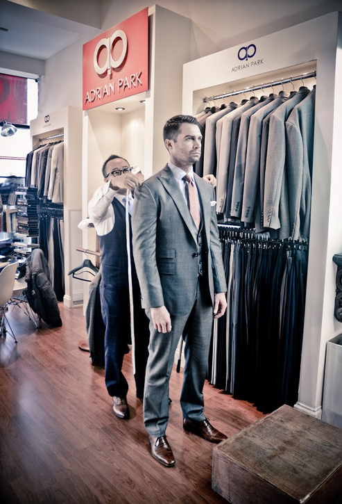 Adrian Park Custom Suits -Delouice Chicago - point of interest  | Photo 2 of 10 | Address: 1755 W North Ave #102, Chicago, IL 60622, USA | Phone: (773) 384-8500
