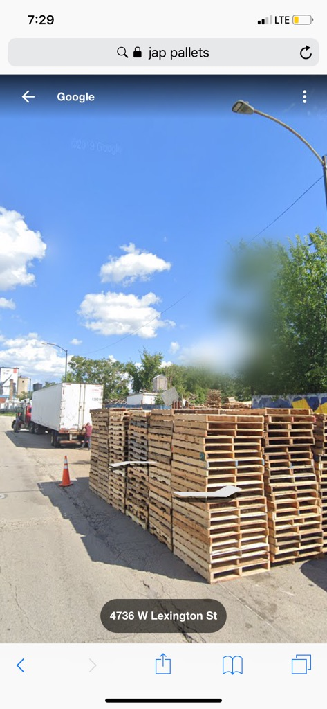 J.A.P Pallets - point of interest  | Photo 5 of 10 | Address: 739 S Cicero Ave, Chicago, IL 60644, USA | Phone: (773) 368-2438