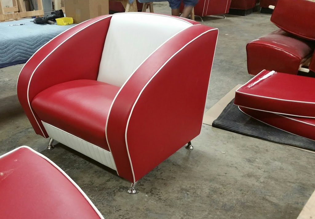 Chicago Booth Manufacturing Inc. - furniture store    Photo 3 of 10   Address: 5000 W Roosevelt Rd, Chicago, IL 60644, USA   Phone: (773) 378-8400