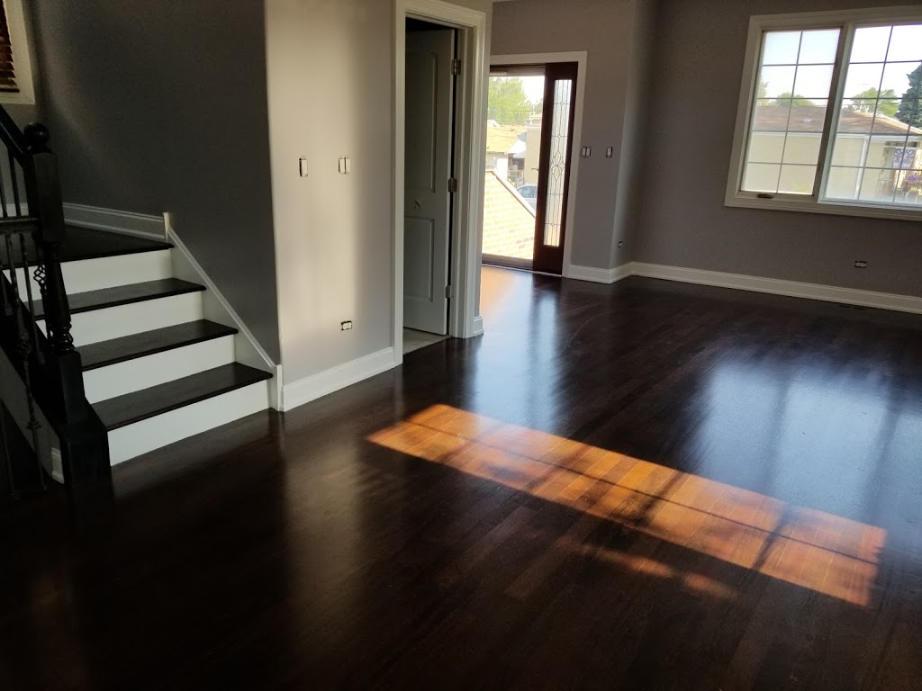A+ hardwood Flooring & home Remodeling - painter  | Photo 6 of 10 | Address: 3332 N Whipple St, Chicago, IL 60618, USA | Phone: (773) 780-5631
