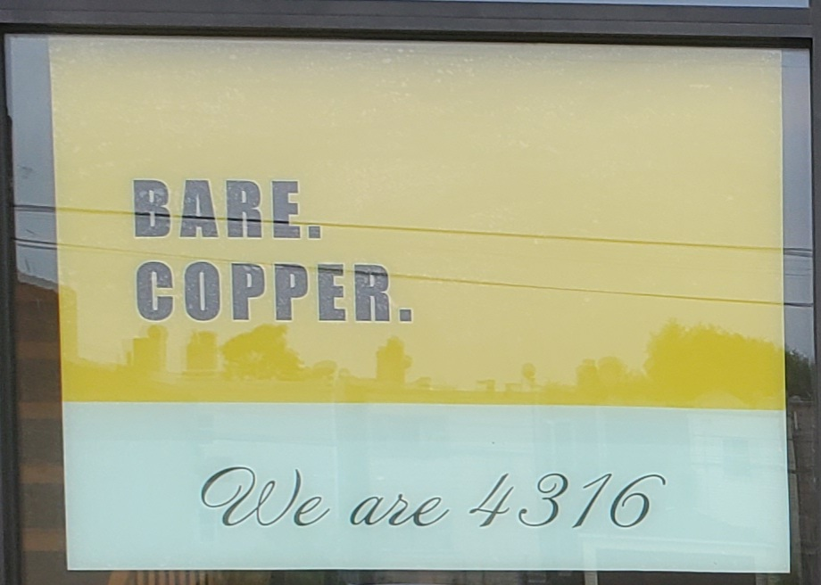 Bare Copper - point of interest  | Photo 6 of 10 | Address: 4316 W Madison St, Chicago, IL 60624, USA | Phone: (773) 309-8123