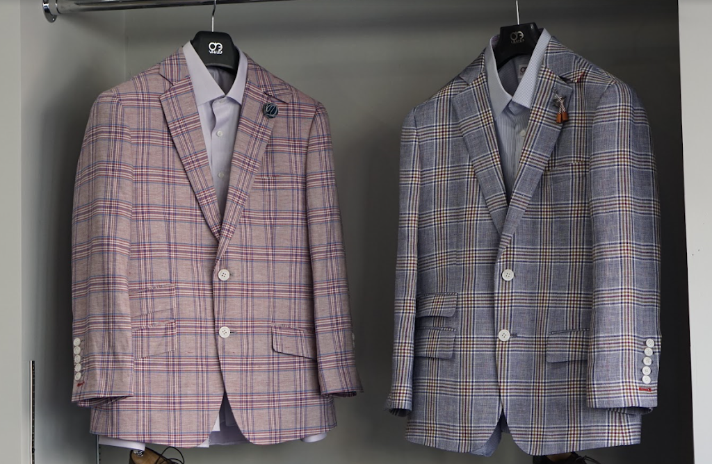 Adrian Park Custom Suits -Delouice Chicago - point of interest  | Photo 6 of 10 | Address: 1755 W North Ave #102, Chicago, IL 60622, USA | Phone: (773) 384-8500