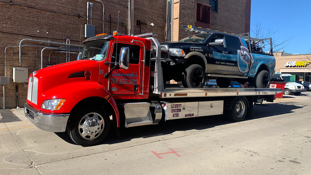 Saucedos Towing Service Inc. - point of interest    Photo 1 of 10   Address: 1246 S Cicero Ave, Cicero, IL 60804, USA   Phone: (708) 655-3023