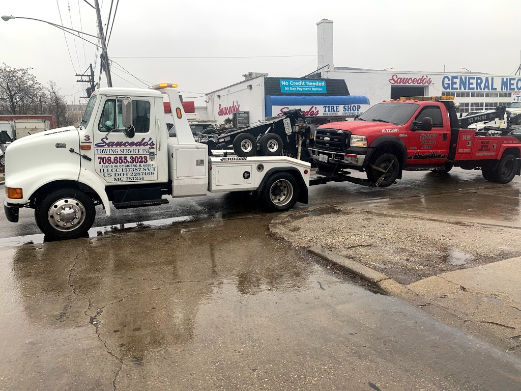 Saucedos Towing Service Inc. - point of interest    Photo 2 of 10   Address: 1246 S Cicero Ave, Cicero, IL 60804, USA   Phone: (708) 655-3023